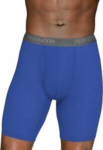 SALE! Fruit of the Loom Men's 3-Pack Everlight Long Leg Boxer Briefs   H51