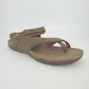 Merrell Womens Size 11 Kangaroo Adjustable Ankle Strap Toe Loop Sandals J598000