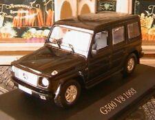 MERCEDES BENZ G500 V8 1993 PHASE 2 W463 BLACK IXO ALTAYA 1/43 SCHWARZ NOIR