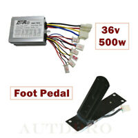 DC 36V 500W Brushed Speed Controller Pedal Throttle Scooter Electric Go Cart ATV