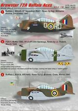 Print Scale decals 1/48 Brewster F2A Buffalo # 48075