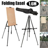 Folding Art Artist 1.6M Telescopic Field Studio Paint Easel Tripod Display Stand