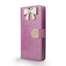 T-mobile Revvl Plus Diamond Rhinestone Bling Glitter Magnetic Flip Case