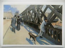 Gustave Caillebotte The Point de l'Europe 1876 6x4 Inch Postcard New
