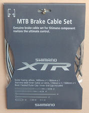 Shimano XTR Bremskabel Set grau