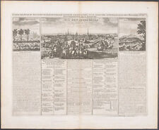 Chatelain - Denmark; Kingdom of Denmark. 4a -1718 Atlas Historique Engraving