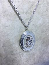 locket necklace /animal classy vintage touch