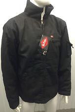 LEE COOPER WORKWEAR 409 Mens Coat Windproof Jacket Harrington Black