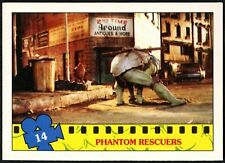 Phantom..#14 Teenage Mutant Ninja Turtles The Movie 1990 Topps Trade Card(C1324)