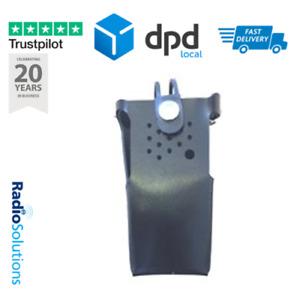 Peter Jones Hard Leather Case with D-Rings and Belt Loop For Motorola DP1400
