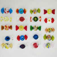 12/24pcs Vintage Murano Glass Sweets Candy Christmas Decorations Kids ❤ !