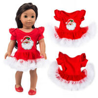 Chirstmas Clothes Dress For 18 Inch Cute Boy Doll Accessory Girl Toy Hot