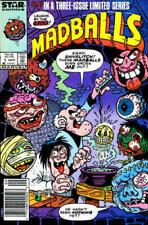 Madballs #1-3 Comic Set 1987 - Marvel Comics - Star Comics