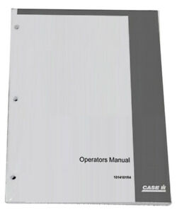 CASE IH International T-4,T-5 & TD 5 Crawler Owners Operators Instruction Manual