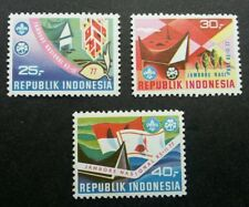 Indonesia National Scout Jamboree 1977 Scouting Flag (stamp) MNH