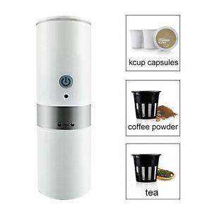 Travel Coffee Maker 60oz Electric Espresso Machine Battery or Usb Powered