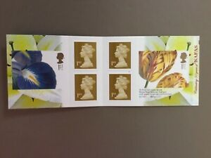 GB 2009 50th ANNIVERSARY of NAFAS FLOWERS BOOKLET PM18 MNH ( W1 cylinder )