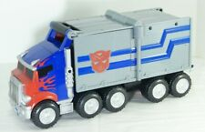 Transformers Optimus Prime Transforming Tractor Truck Nerf Gun 2006 Hasbro