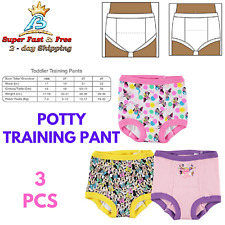 Girls Pull Up Training Panty Toddler Potty Undewear 3 Pack Minnie Disney 3T New