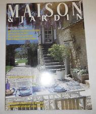 Maison & Jardin French Magazine 4 Tendances No.325 July/August 1986 101414R1