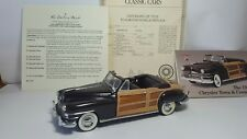 Danbury Mint 1948 Chrysler Town And Country With Title