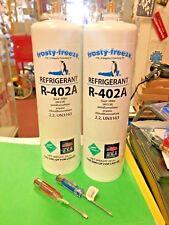 R402a, HP80, Refrigerant, R402A, HCFC, R502, Thermo King (2) 28 oz. Screwdrivers