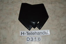 Nummerntafel Number Plate schwarz Husqvarna 125 250 300 WR CR 09-13 Vollcross