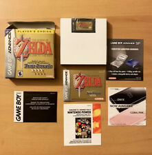 ZELDA Link To The Past FOUR SWORDS Gameboy Advance MANUAL BOX Players Choice GBA