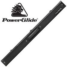"PowerGlide Aluminium Cue Case For 57"" 50/50 Snooker Pool Cue - Crocodile Effect"