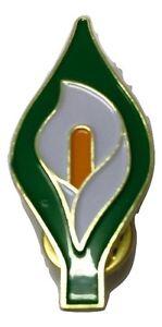 Easter Lily Enamel Pin Badge  - Irish Republican Rebel 1916 Rising