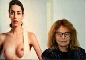 """Angelika Platen """"Bettina Rheims"""", 2012, Einladungskarte der Galerie Schultz"""