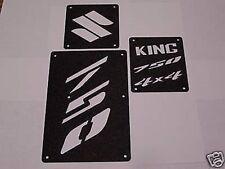 Suzuki King Quad KingQuad 750 700 500 450 Fender Warning Tags /NO decal AllYears
