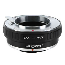 K&F Adapter for Exakta EXA Lens to Micro 4/3 M4/3 OM-D Panasonic GH4 E-P Cameras