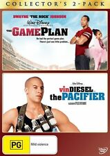 The Game Plan / Pacifier - DVD Movie - Vin Diesel Dwayne Johnson - Family
