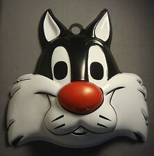 LOONEY TUNES SYLVESTER THE CAT HALLOWEEN MASK PVC CHILD SIZE