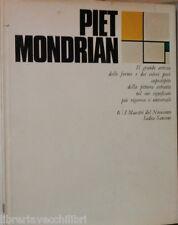 PIET MONDRIAN Italo Tomassoni SADEA Sansoni I maestri del Novecento 6 Arte di e