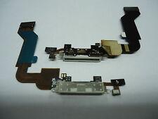FLAT CONNETTORE DI RICARICA PER IPHONE 4S DOCK USB CON MICROFONO BIANCO