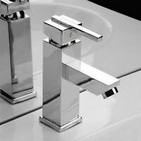 Single Hole Chrome Bathroom Faucet Basin Mix Sink Tap Brass Vessel Faucet GH