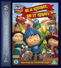 MIKE THE KNIGHT - BE A KNIGHT, DO IT RIGHT!  **BRAND NEW DVD**