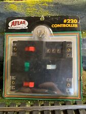 Atlas Model Railroad Controller #220 for HO or N Scale Brand New