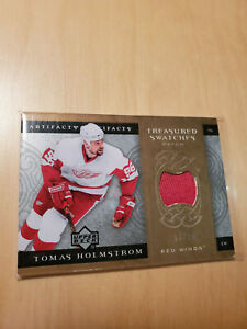 2007-08 Upper Deck UD Artifacts - Treasured Swatches Tomas Holstrom Patch /25