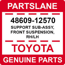 48609-12570 Toyota OEM Genuine SUPPORT SUB-ASSY, FRONT SUSPENSION, RH/LH