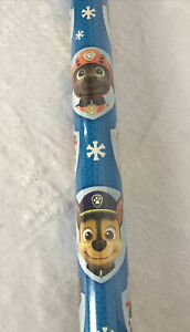 Paw Patrol Christmas Gift Wrapping Paper- 1 Roll 70Sq Ft. New Sealed