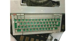 Olivetti Praxis 48 Electric Typewriter Projecting Keyboard