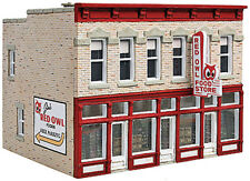 Walthers Cornerstone HO Scale Building/Structure Kit Jim's Red Owl Food Store