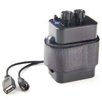 6 Abschnitt 18650 Batterie Box 18650 Batterie Pack 5VUSB/8.4VDC Dual-Interf W1O7