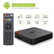 T95N Mini MX+ 4K S905 2.0GHz Quad Core Android 6.0 Smart TV Box WIFI 1G+8G