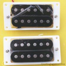 Guitarra Pastillas Nuevo Par Abierto humbucker+white Anillos Etc