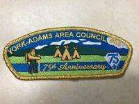 York Adams Area Council 75th Anniversary CSP