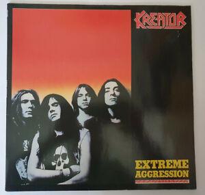 Kreator Extreme Aggression LP 1989 Vinyl
